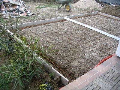 Re ouverture chantier blog de paulo - Fondation abri jardin pau ...
